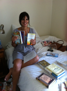 After our encounter Deepak sent me a whole lot of books and audio series. I was very spoilt :)