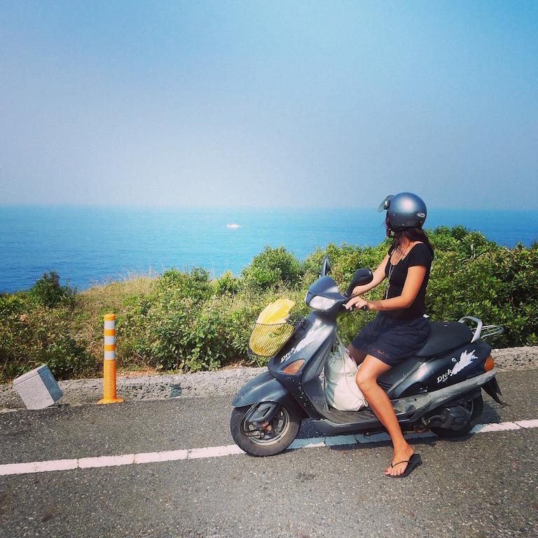 Riding around Liu Qiu